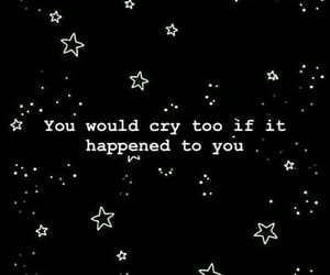 black, cry, and quotes image