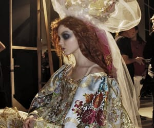 fashion, Christian Lacroix, and Lily Cole image