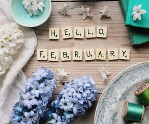 february, hello, and welcome image