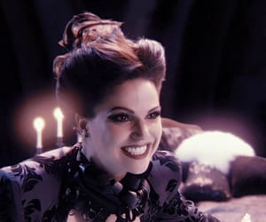 girl, once upon a time, and regina mills image