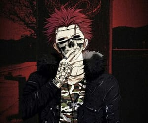 K, mikoto suoh, and trap anime image