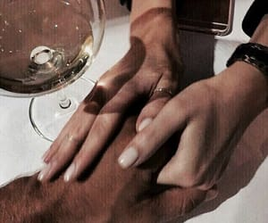 couple, goals, and wine image