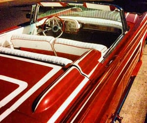 cars, convertible, and vintage image