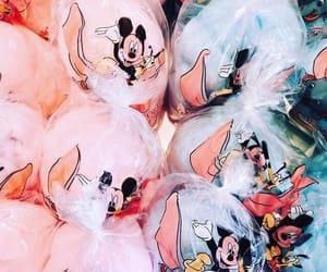 candy floss, disney, and mickey image