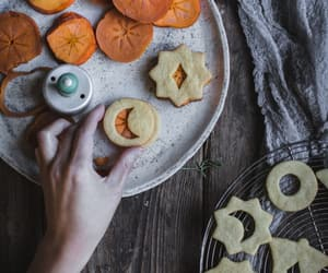 Cinnamon, Cookies, and linzer cookies image