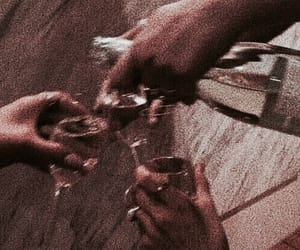 drink, aesthetic, and champagne image