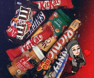 food, kitkat, and like image