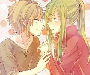 anime girl, girl, and guy image