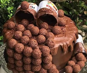 cake and nutella image