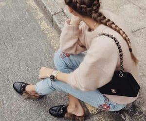 fashion, hair, and braid image