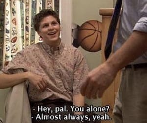 alone, arrested development, and funny image