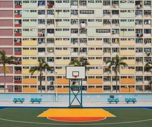Basketball, california, and retro image