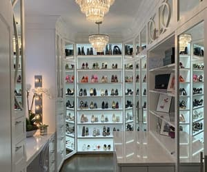 shoes, closet, and interior image