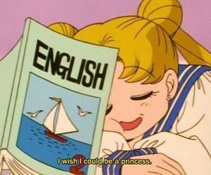 sailor moon, anime, and princess image