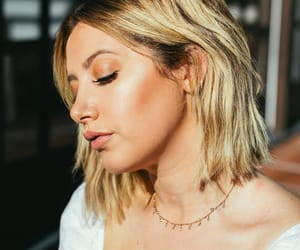 ashley tisdale, spring, and blonde hair image