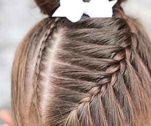 hair, hairdye, and straighthair image