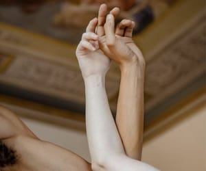 hands, art, and touch image