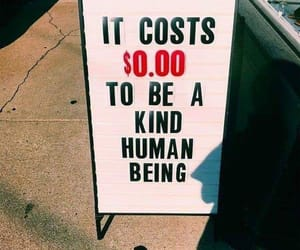 quotes, kind, and human image