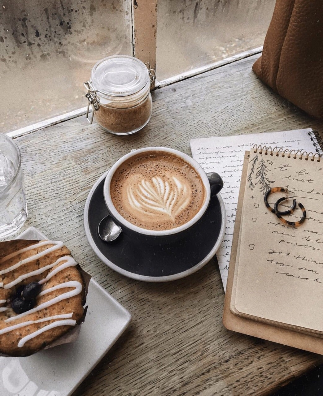 coffee, latte, and aesthetic image