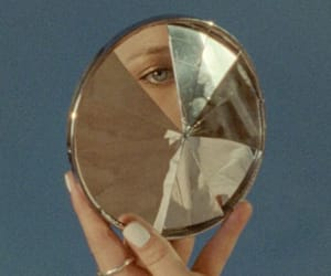 aesthetic, mirror, and alternative image