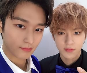 eric, juyeon, and the boyz image