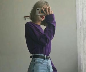 clothes, mirror, and girl image