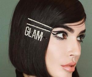 braid, hair clips, and hairdo image