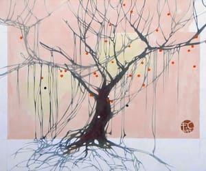 albero, arte, and disegno image