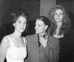 winona ryder, julia roberts, and jodie foster image