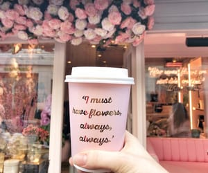 coffee, flowers, and istanbul image