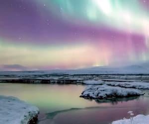 lago, naturaleza, and nieve image