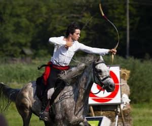 archery, tatar, and boy image