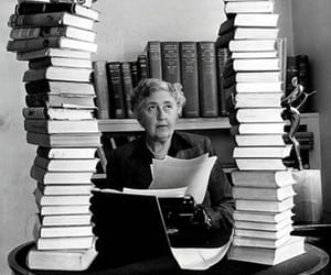 agatha christie, book, and writer image