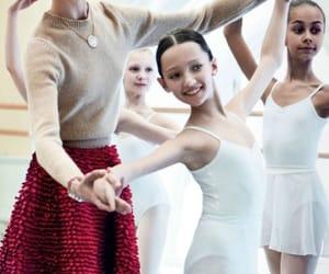 ballet, children, and dancers image