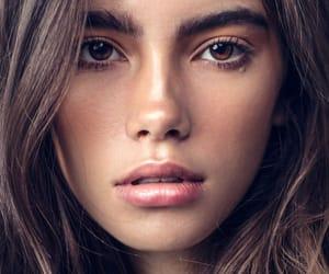 model, ojos marrones, and cindy mello image