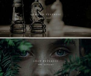 aesthetic, edmund pevensie, and lucy pevensie image