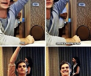 dylan o'brien, teen wolf, and daniel sharman image