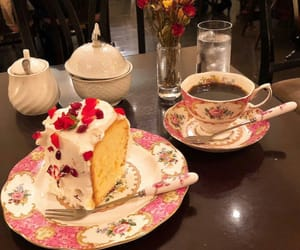 cafe, cake, and food image