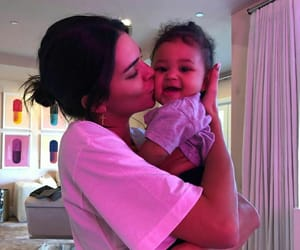 kendall jenner, baby, and stormi image