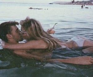 beach, Relationship, and summer image