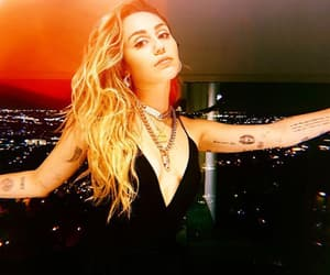 miley cyrus, miley, and tattoo image