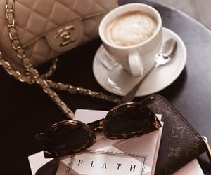 coffee, bag, and chanel image