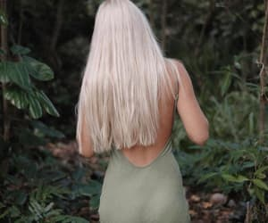 blonde, forest, and nymph image