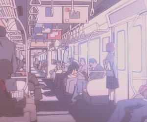aesthetic, gif, and lain image