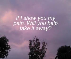 pain, sad, and grunge image