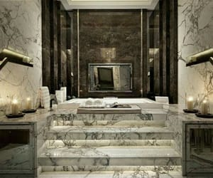 marble, design, and bathroom image