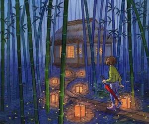 art, bambú, and beautiful image