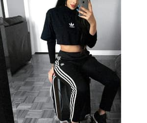 adidas, casual, and edgy image