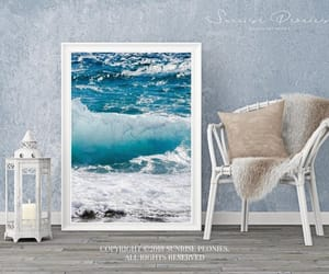 etsy, wall decor, and watercolor painting image