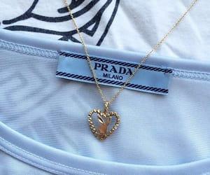 fashion, necklace, and Prada image